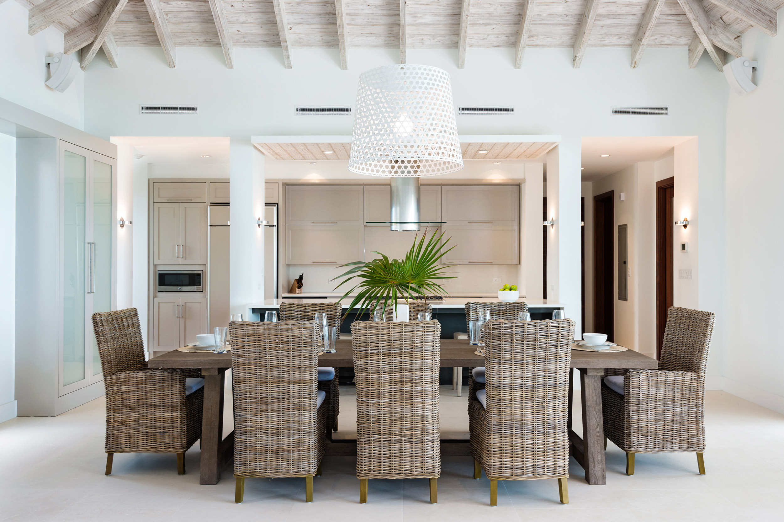 Villa Aguaribay - view of the dining area