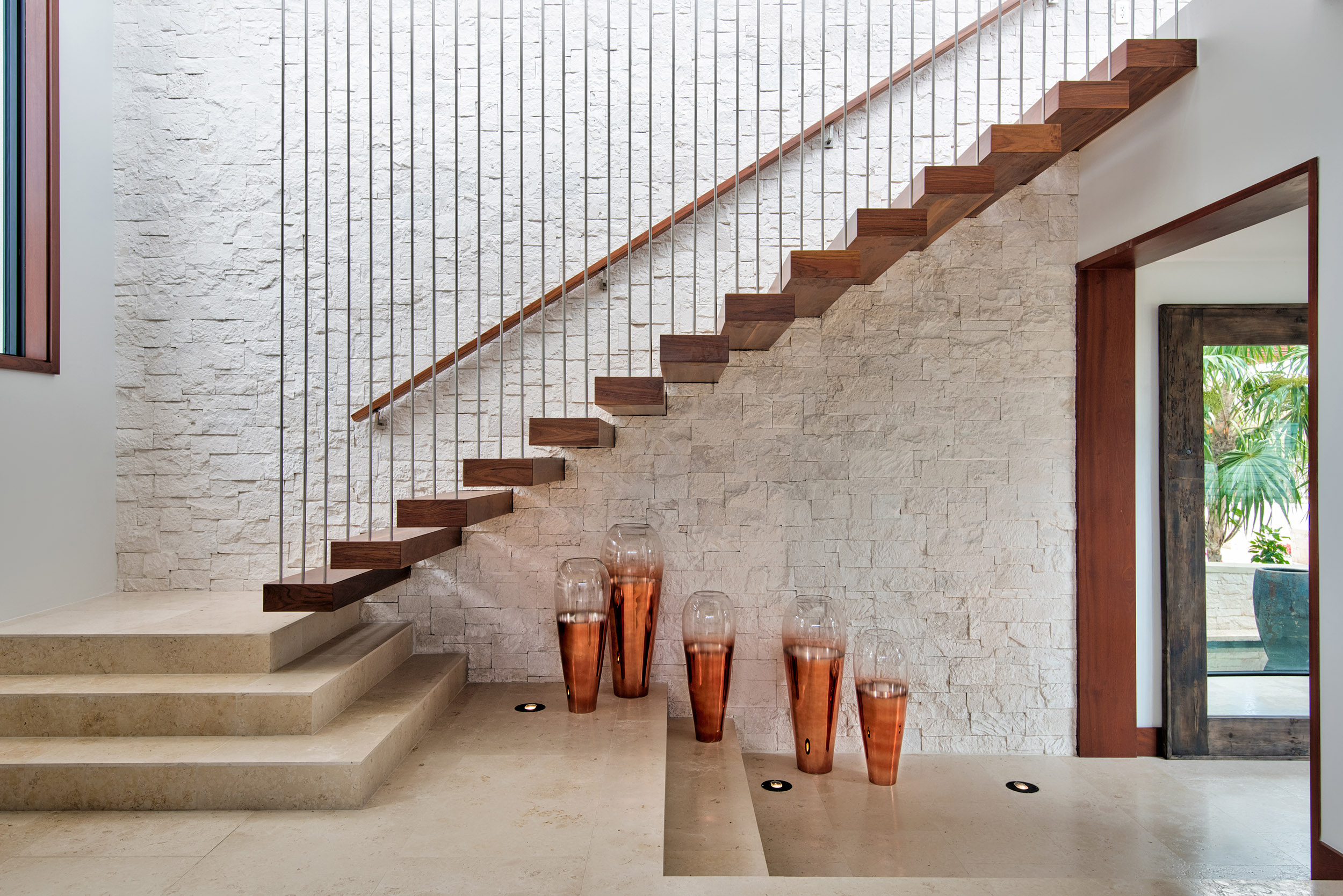 Hawksbill - view of the cantilevered staircase