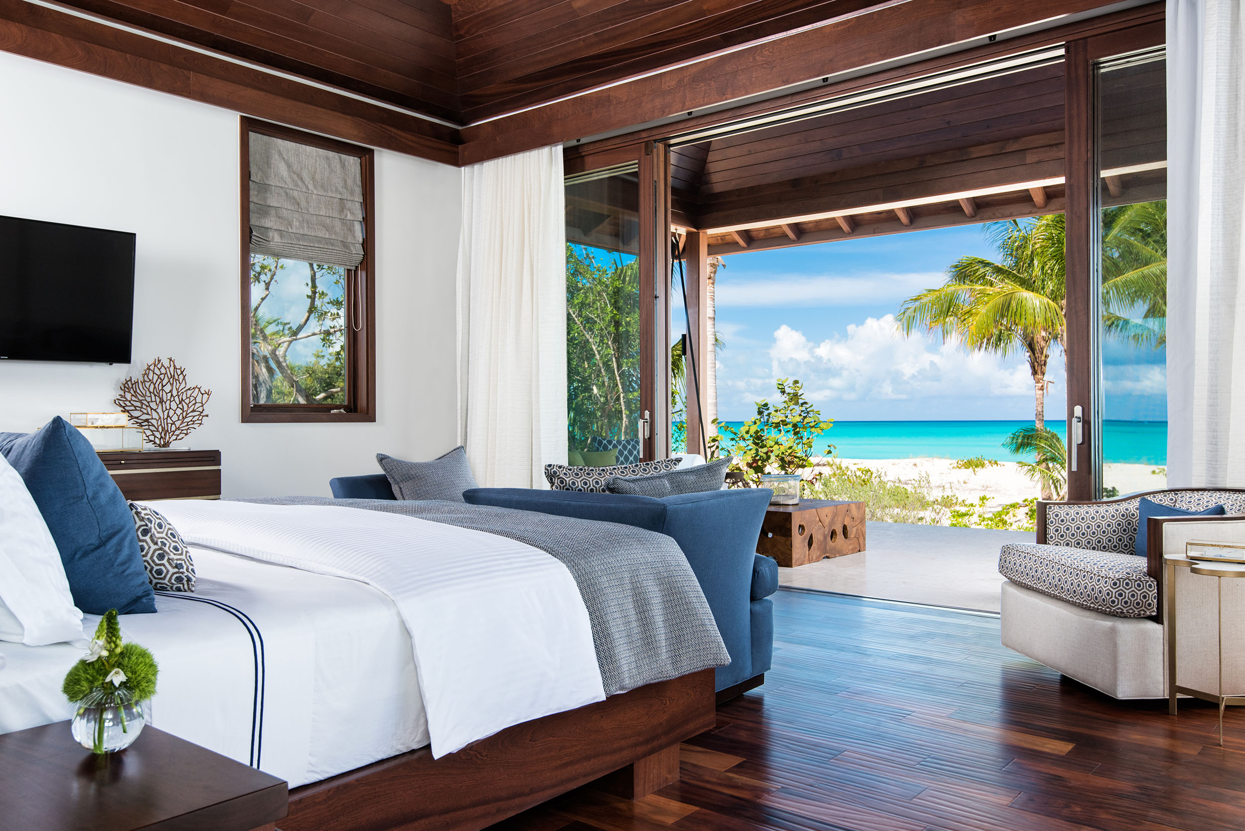 Hawksbill - view of the master bedroom