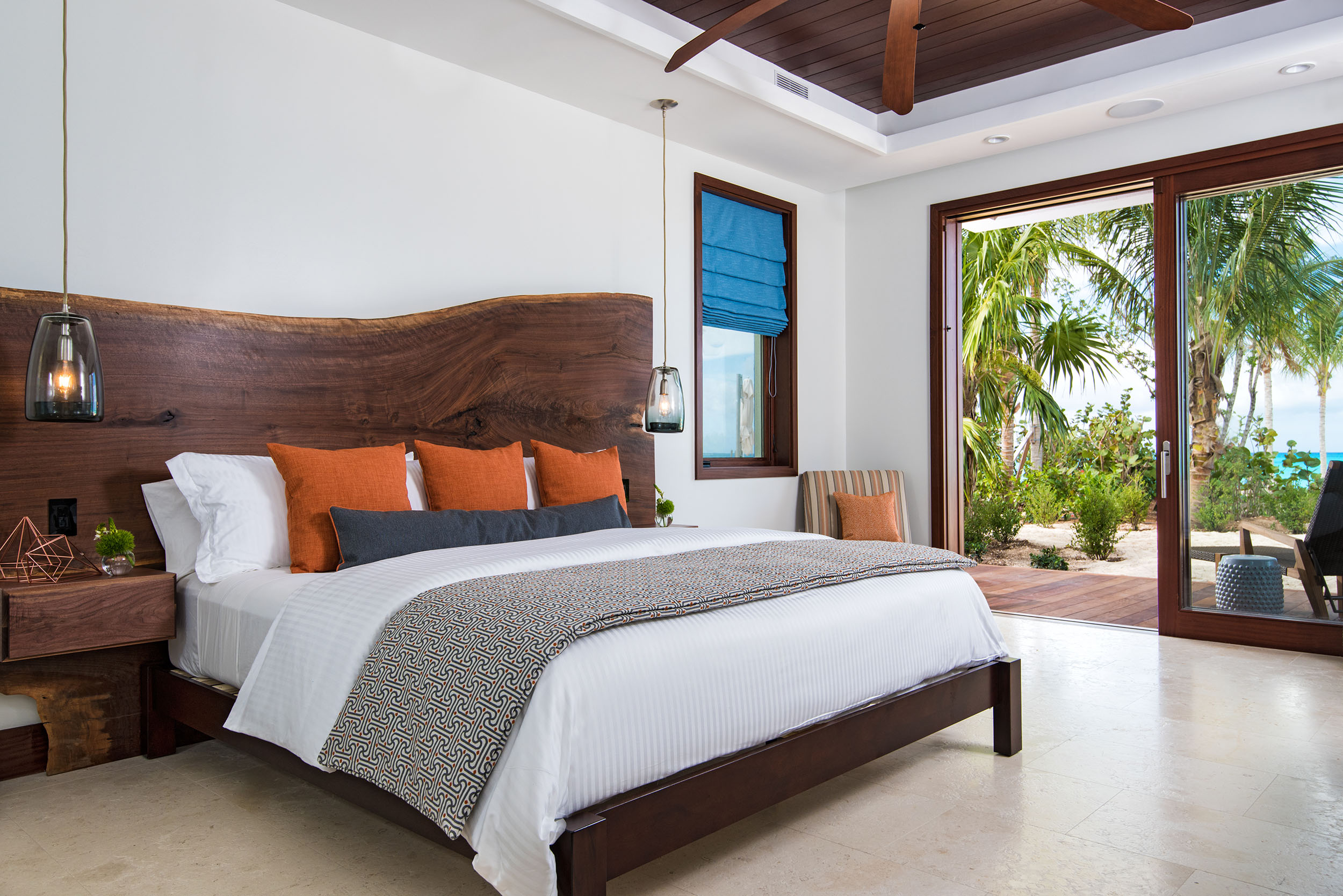 Hawksbill - view of one of the bedrooms