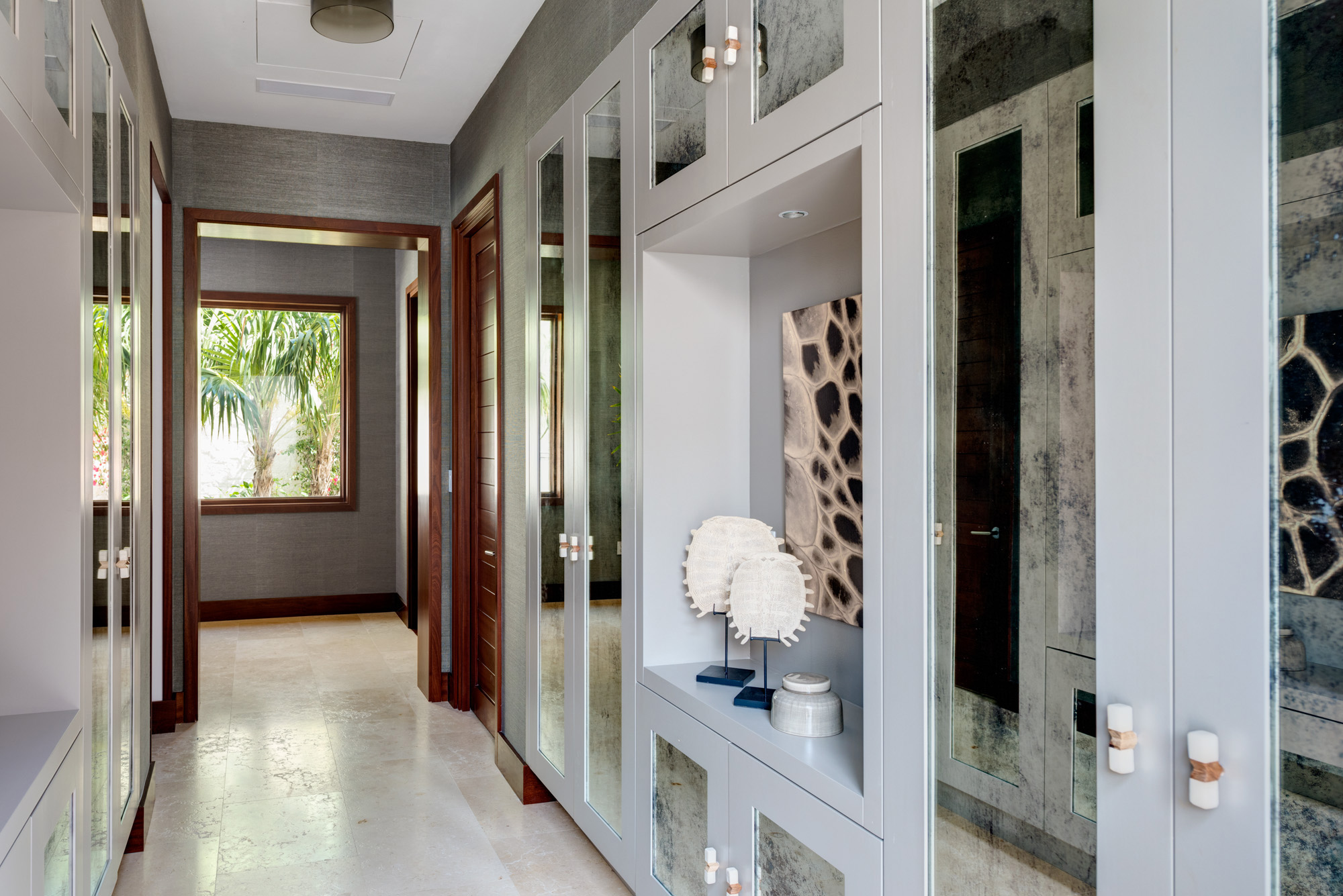 Hawksbill - internal view of cabinetry