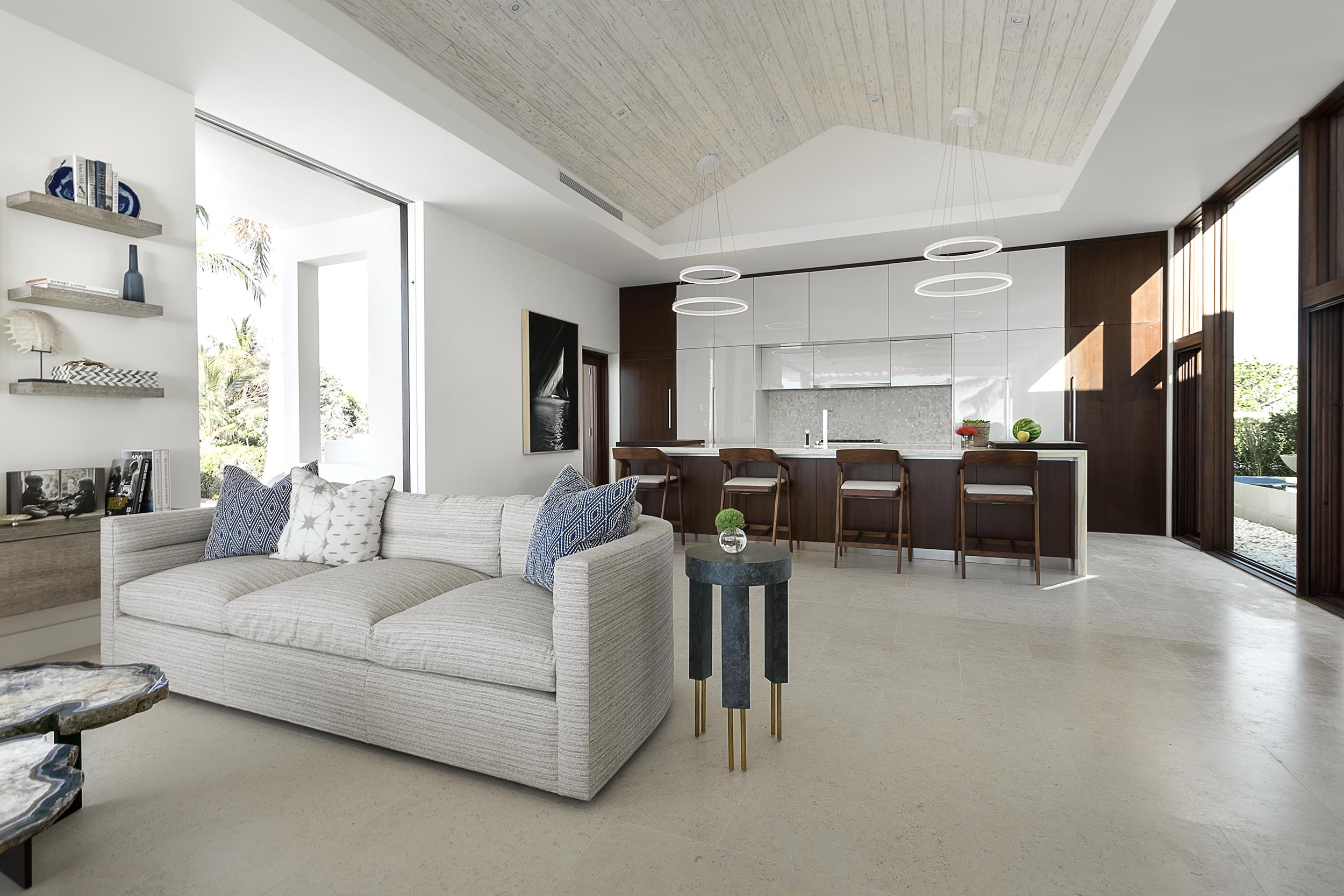 La Dolce Vita - view of one of the open plan living and kitchen areas