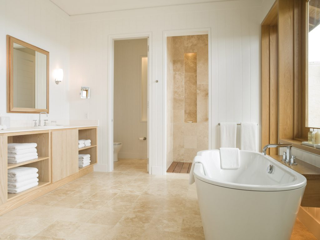 Parrot Cay - view of one of the bathrooms