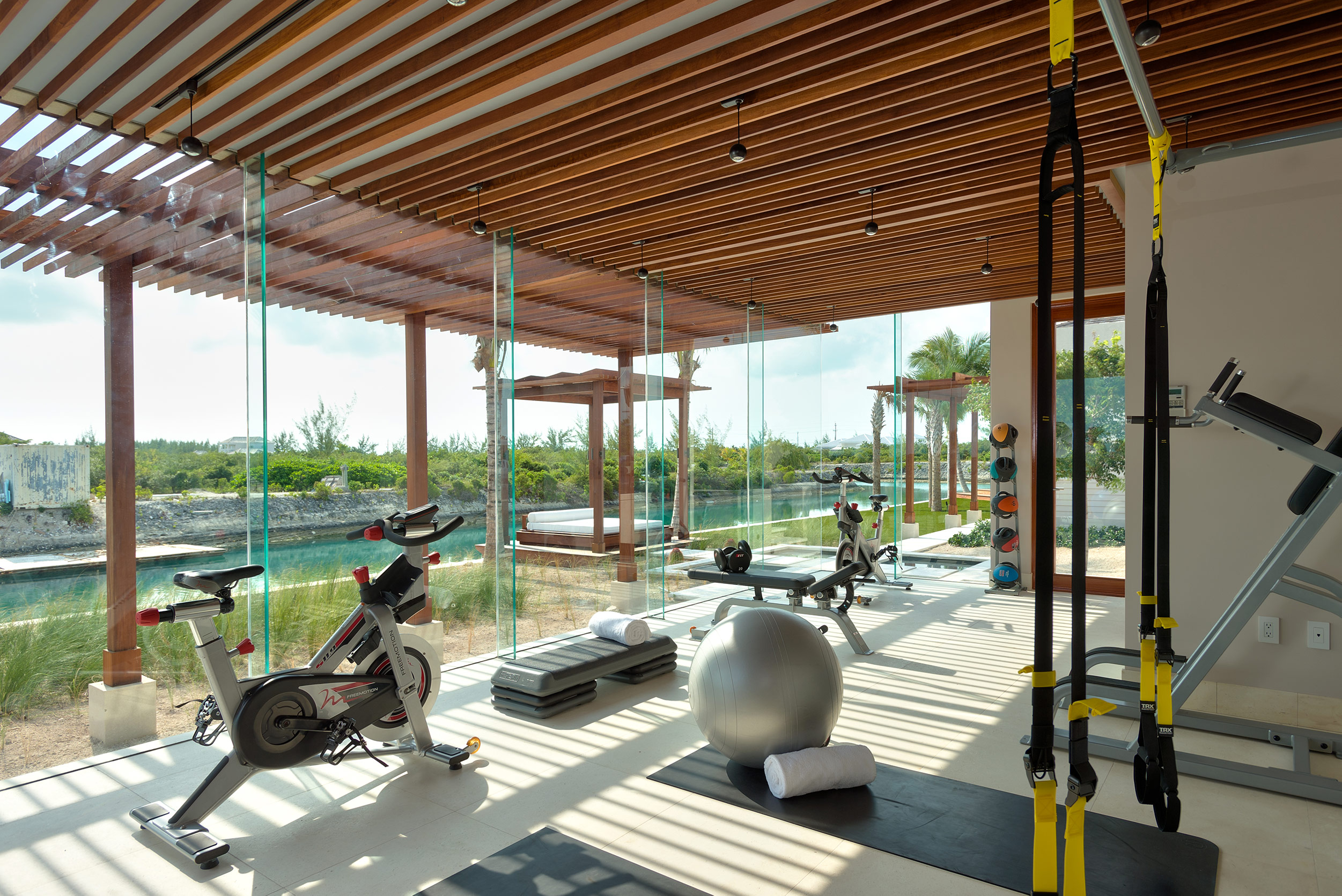 Vision and Balance - view of the gym