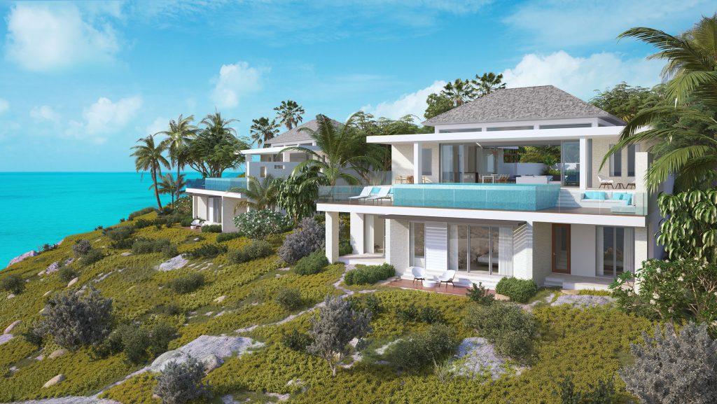 Wymara Villas - computer rendered view of the phase 2 villas