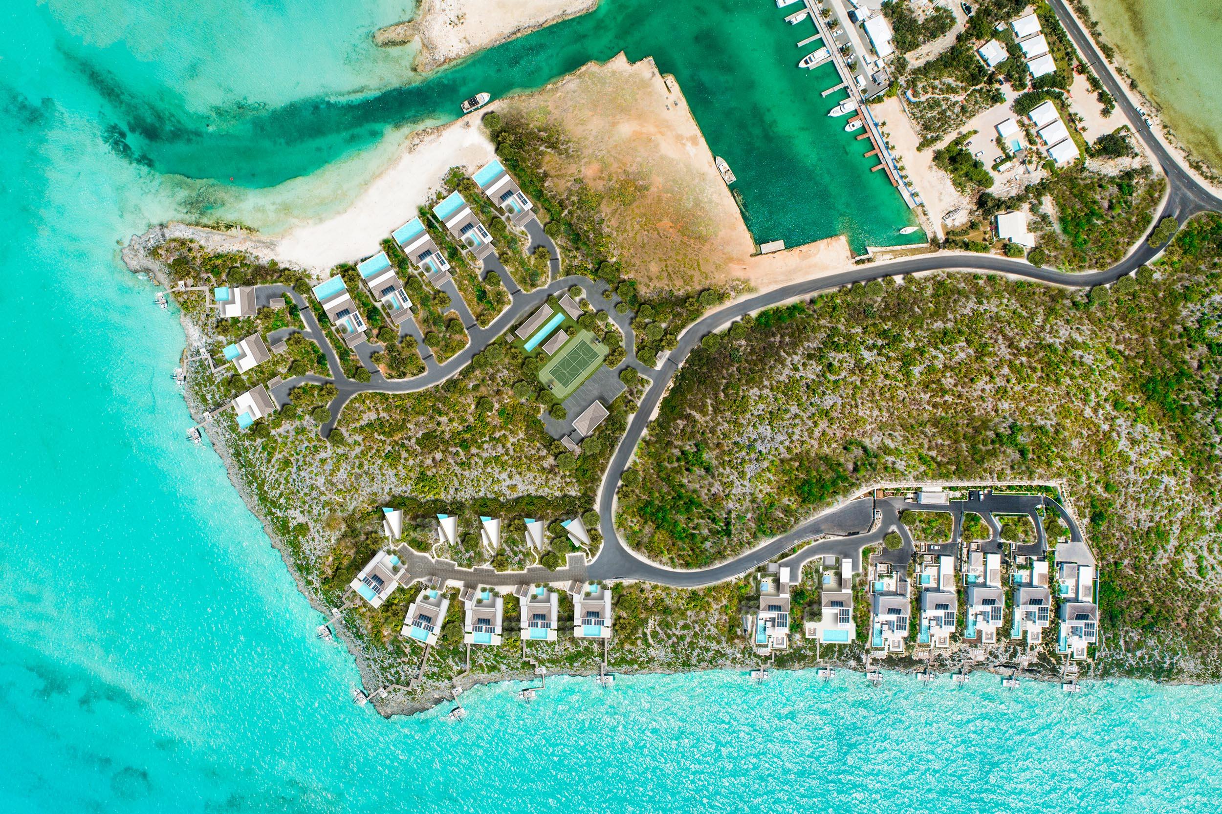 Wymara Villas - masterplan of the development