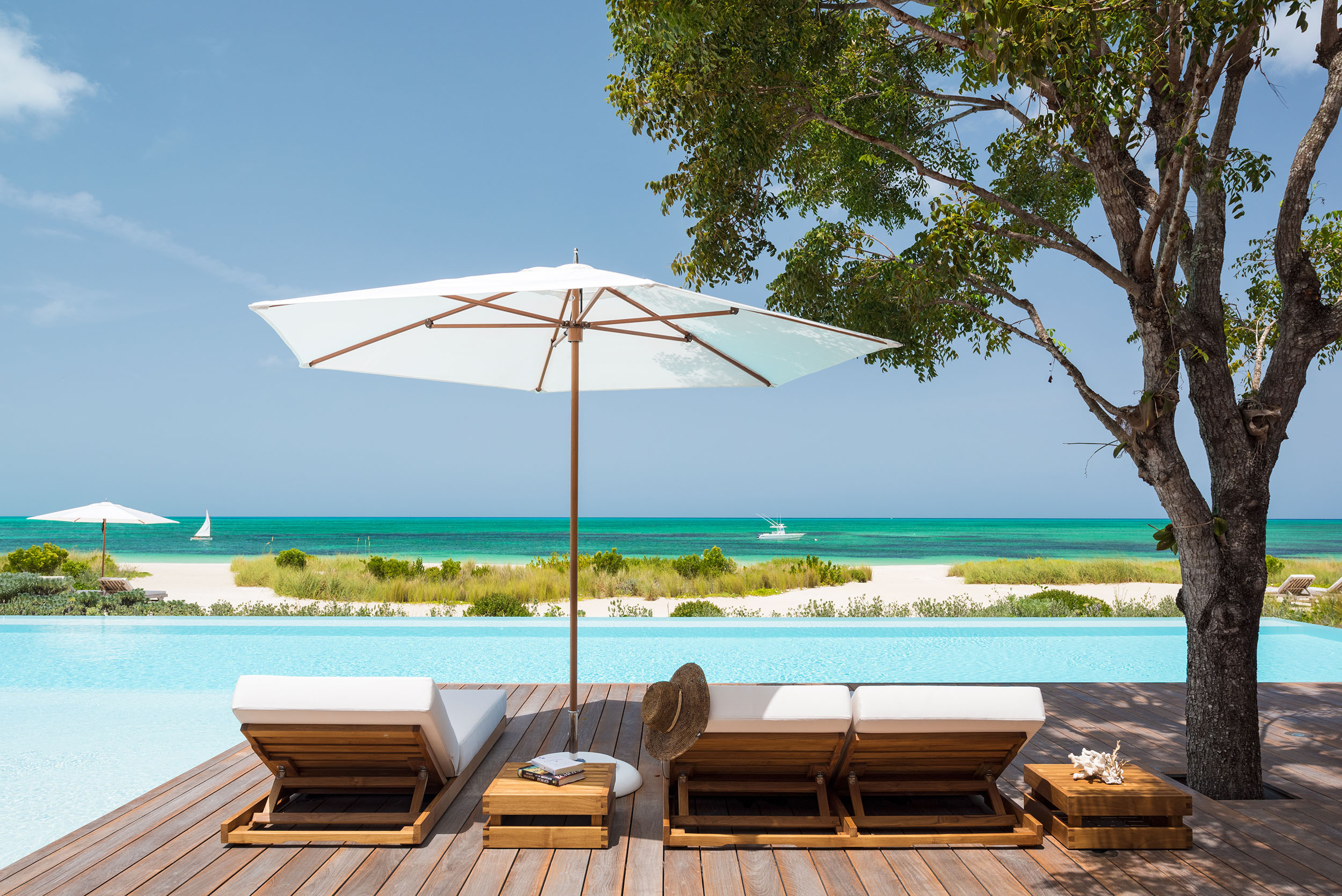 Serenity - view of the pool deck