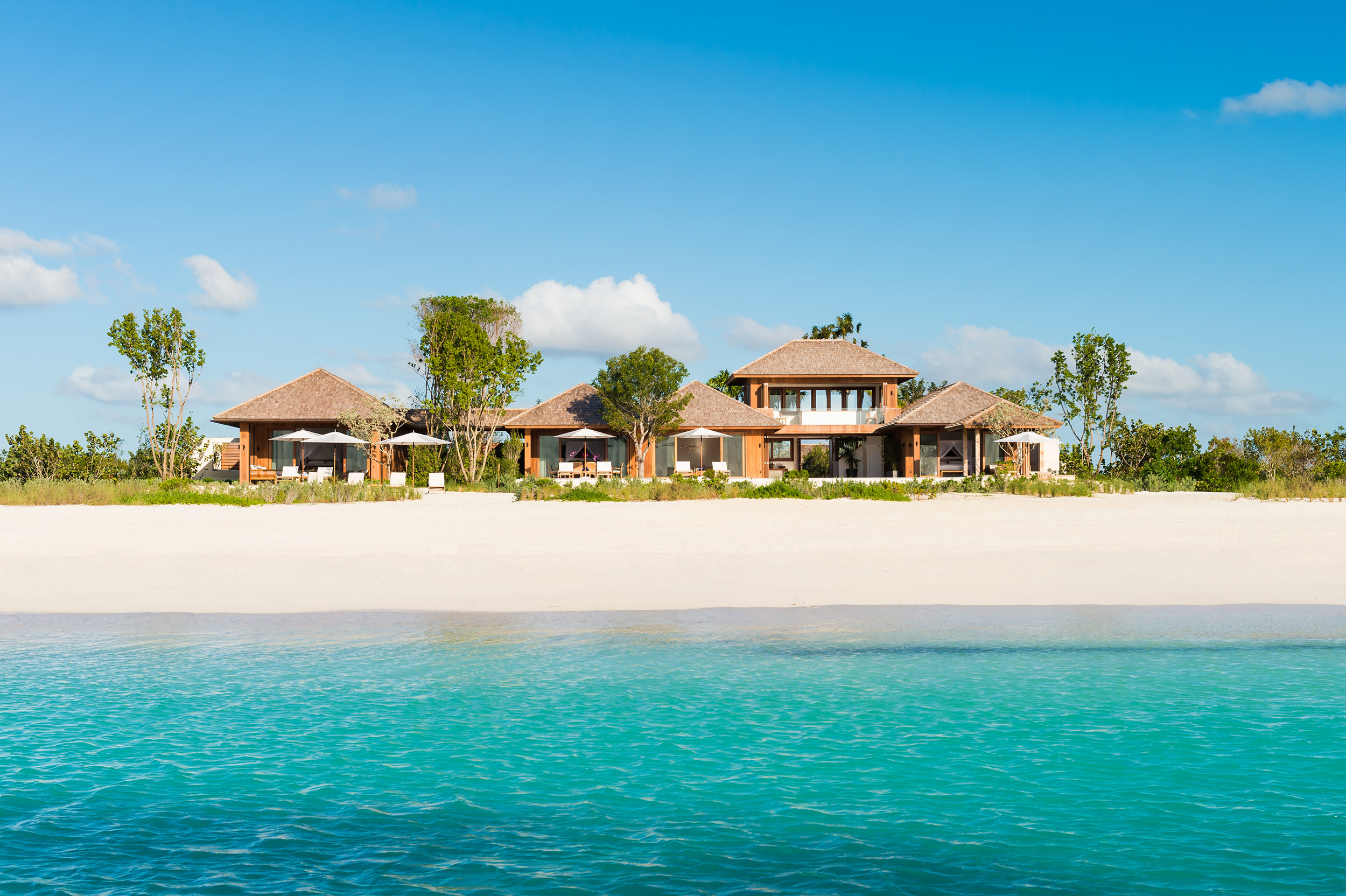 Serenity - oceanside view of the villa