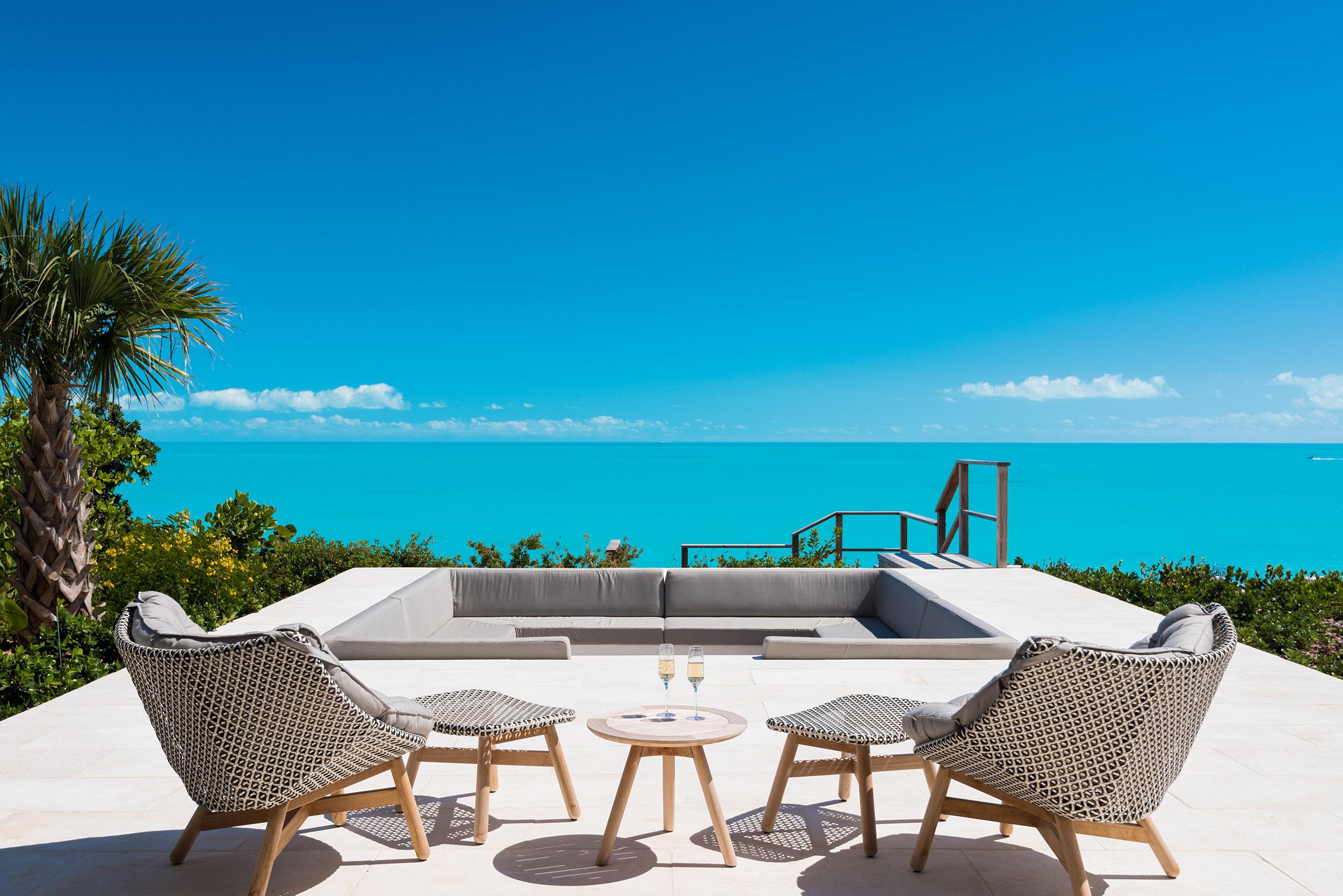 Wymara Villas - view from the terrace