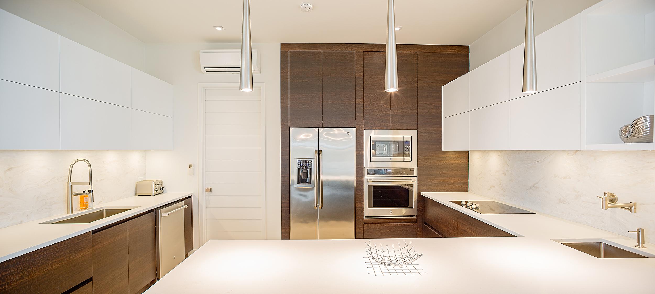 Brise De Mer - view of the kitchen