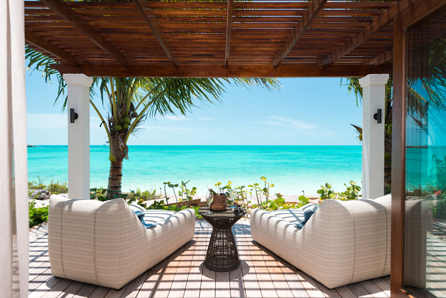 Dream Big Villa - view from one of the shaded deck areas