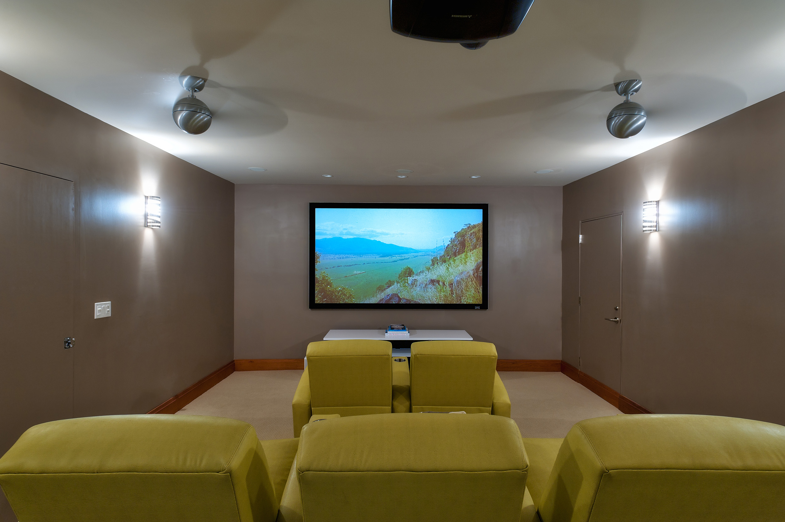 Dream Big Villa - view of the private home theater