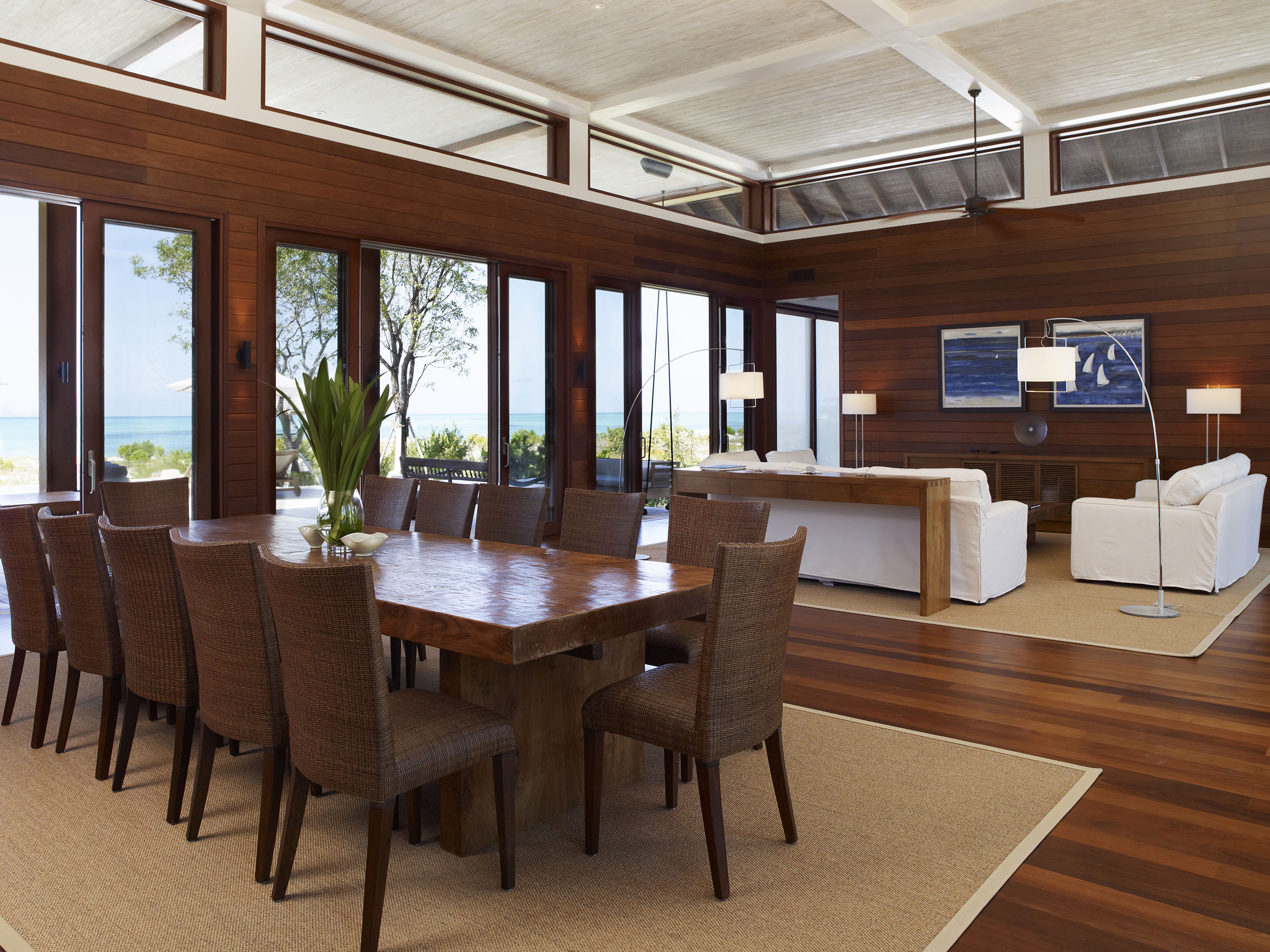 Tamarind - view of the dining and living areas